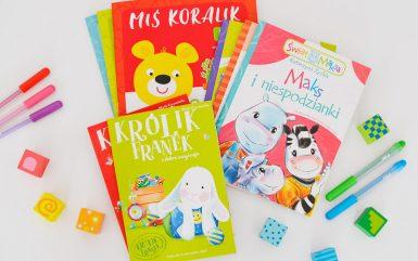 3 serie książek dla przedszkolaków, które warto czytać