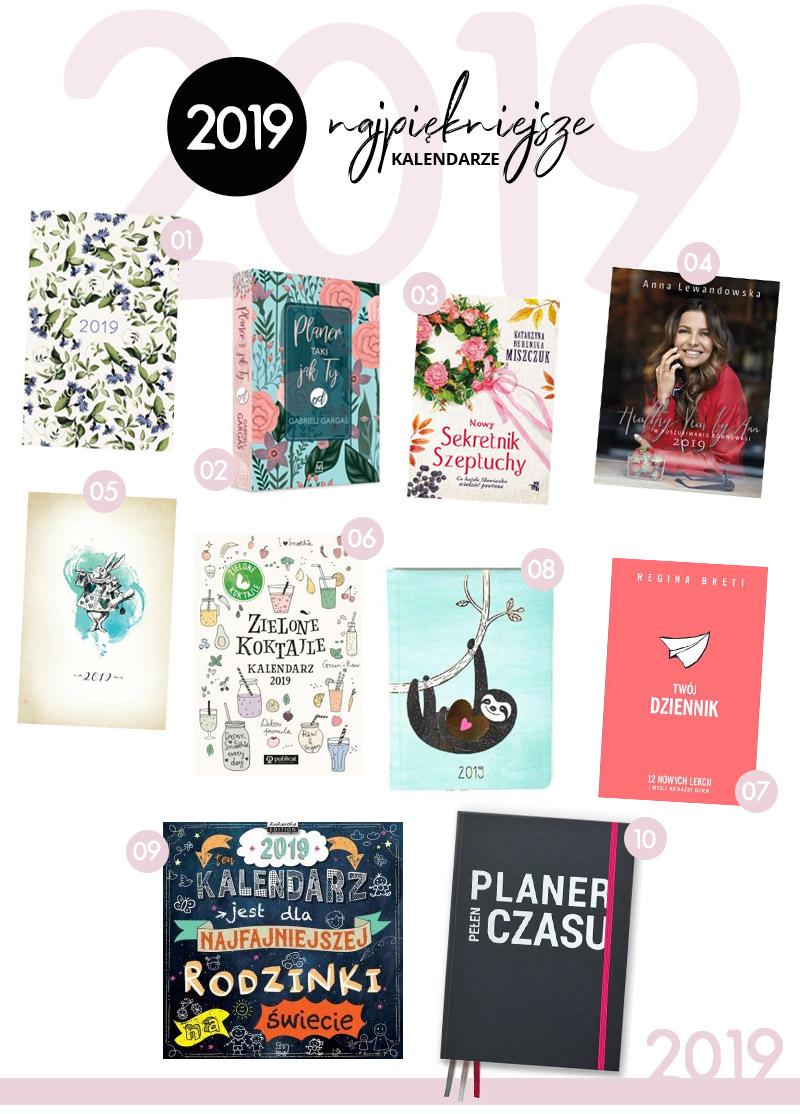 Najpiękniejsze kalendarze książkowe dla kobiet