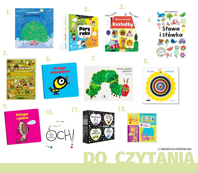 Prezenty dla niemowlaka - Zabawki do czytania
