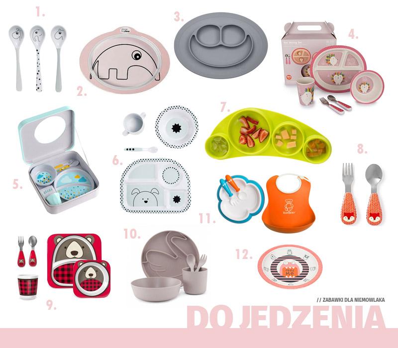 Prezenty dla niemowlaka - Gadżety do jedzenia