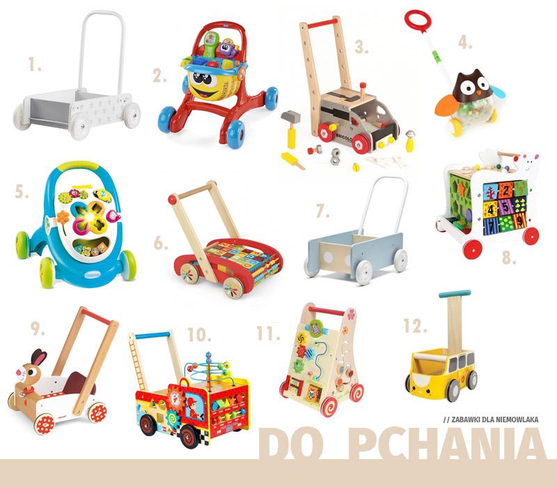 Prezenty dla niemowlaka - Zabawki do pchania