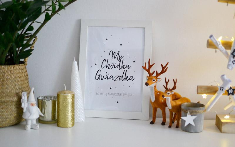 Świąteczne plakaty do wydrukowania