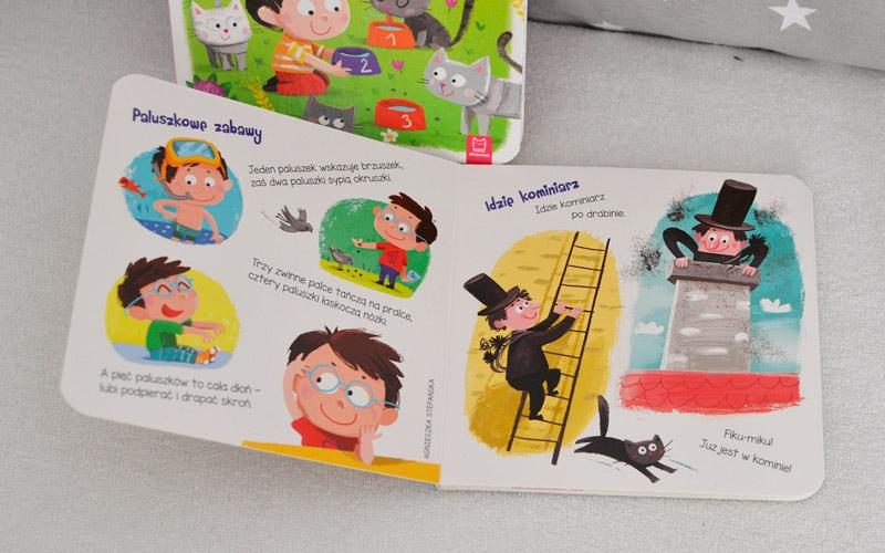 Paluszkowe zabawy i matematyczne wierszyki dla maluszka