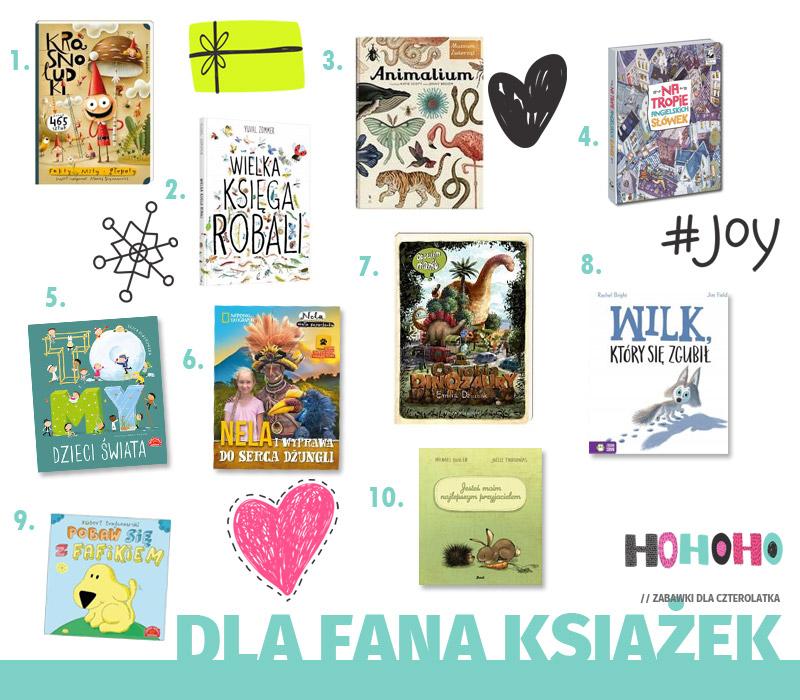 Prezenty dla czterolatka - dla fana książek