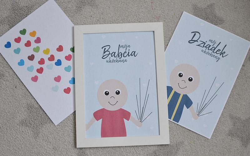 Kreatywne plakaty dla Babci i dziadka