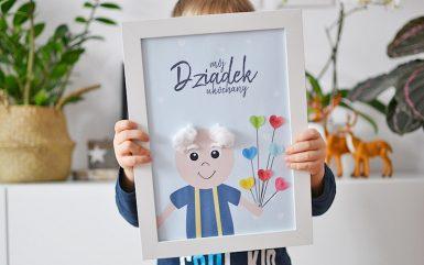 Plakaty zrób to sam dla babci i dziadka