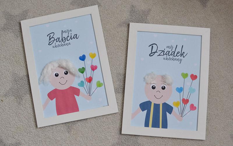 Kreatywnie z dzieckiem #10 - Plakaty dla Babci i dziadka