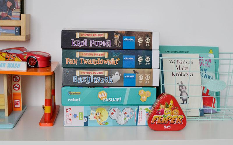 6 gier planszowych dla dzieci i całej rodziny