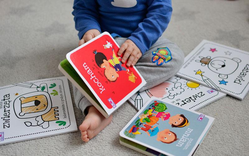 Krok po kroku - czytamy i malujemy z maluchem