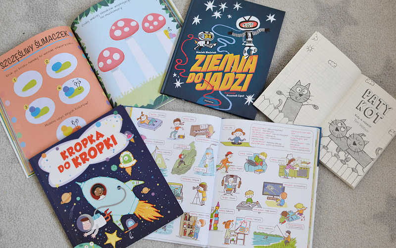 Książki dla przedszkolaka, czyli co nowego czytamy #3