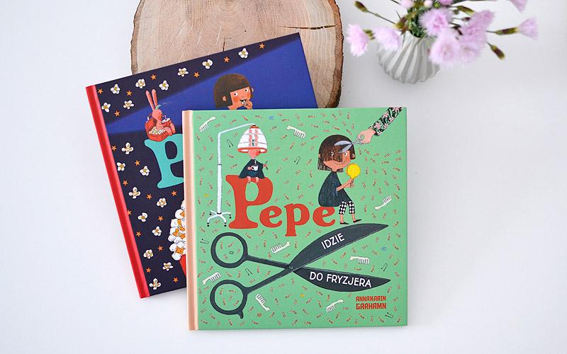 Pepe idzie do kina i Pepe idzie do fryzjera, czyli odkrywamy świat z Pepe