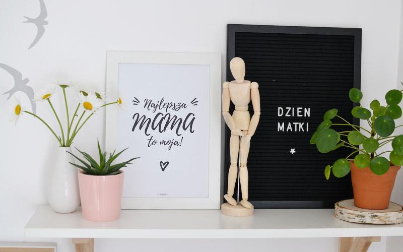 Plakat dla mamy - Najlepsza mama