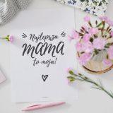 Laurka i plakaty dla mamy - do wydrukowania