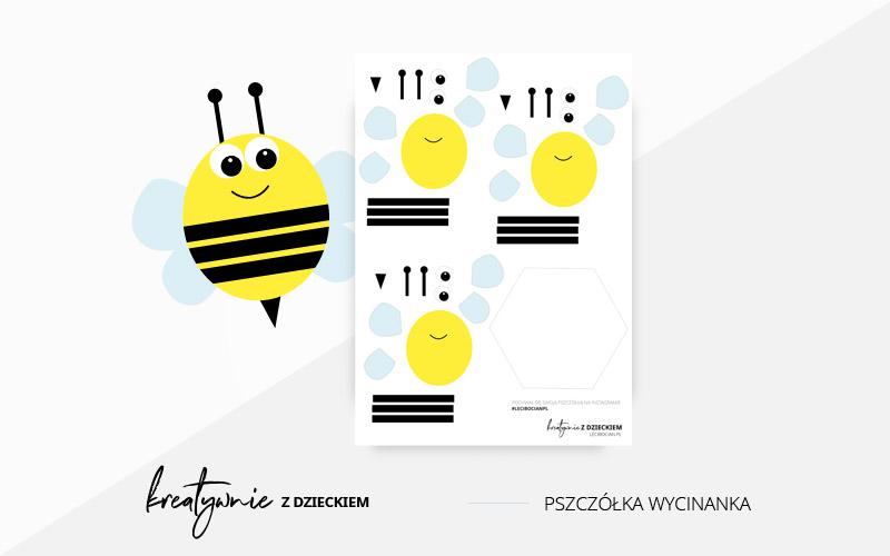 Pszczółka wycinanka