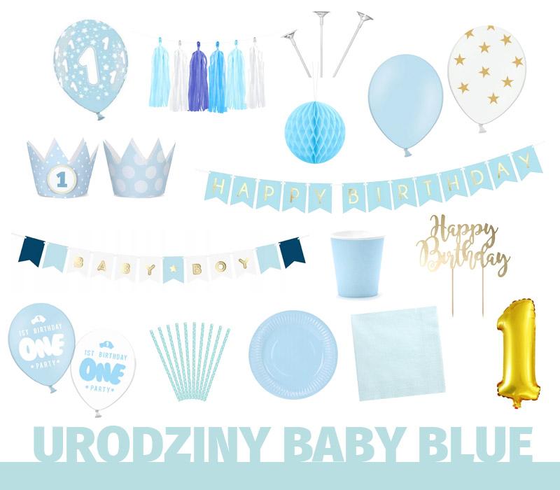 Pierwsze urodziny mojego syna, czyli roczek w kolorze baby blue