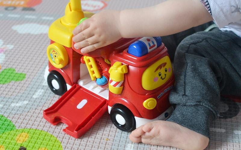 Autko wóz strażacki Vtech - opinia, recenzja, zdjęcia