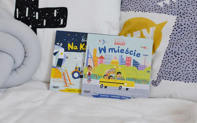 Mój mały świat - książeczki z ruchomymi elementami