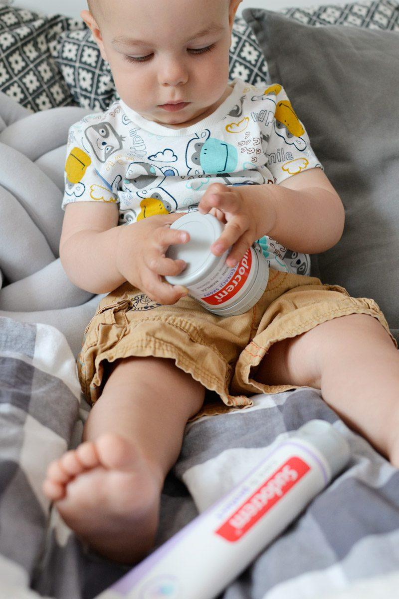 Sudocrem na zdrową skórkę niemowlaka