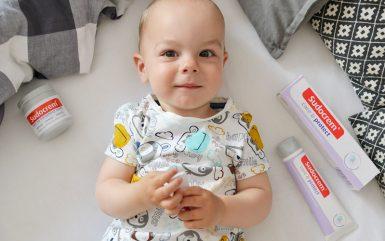 Zdrowa skóra niemowlaka
