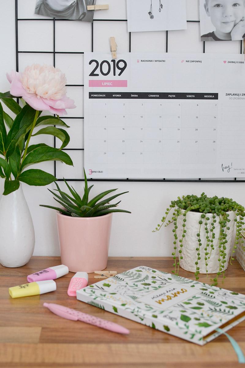 Planer lipiec 2019 – do pobrania i wydrukowania