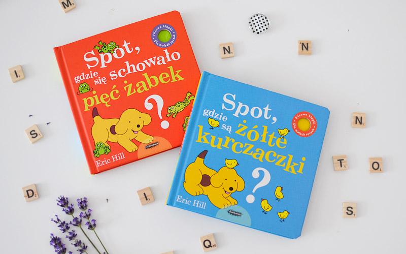 Spot - niezwykłe książki o kolorach i liczbach dla najmłodszych
