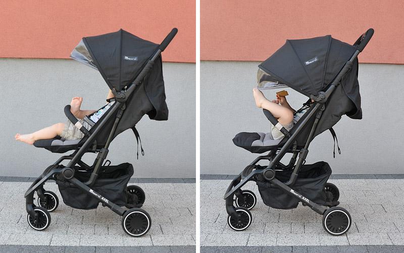 Z tak dużą budką na pewno ochroni dziecko przed słońcem