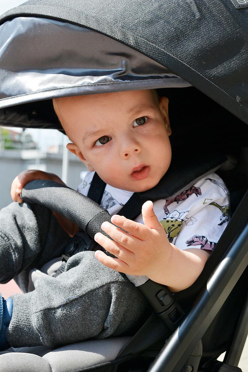 Espiro Axel - lekka spacerówka idealna na rodzinne podróże