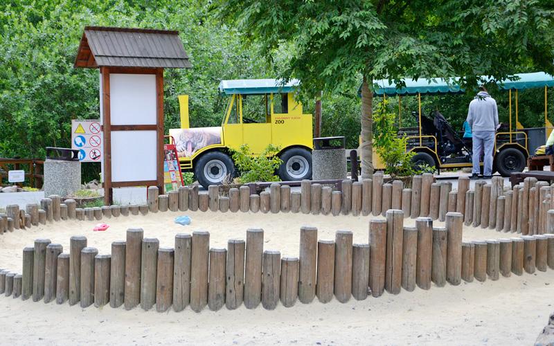 Kolejka Zoo Safari w czeskim Zoo