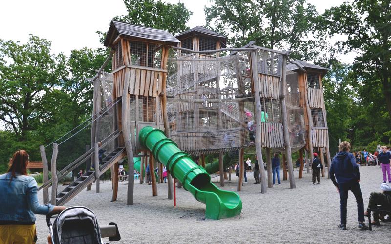 Największy plac zabaw jest w samym sercu Zoo