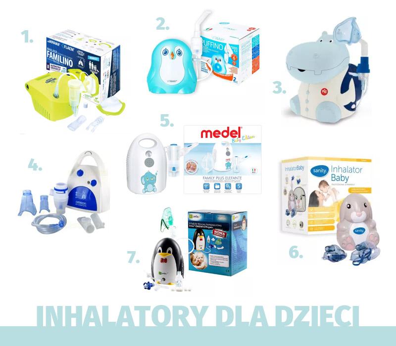 Inhalatory dla dzieci - przegląd