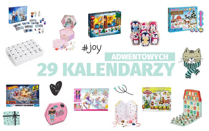 29 kalendarzy adwentowych dla dzieci bez słodyczy