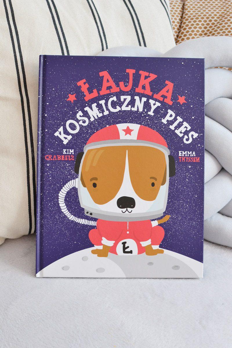 Łajka kosmiczny pies - recenzja, zdjęcia książki