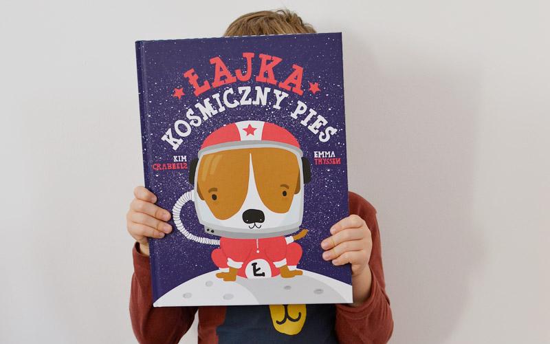 Łajka kosmiczny pies - książka o kosmosie