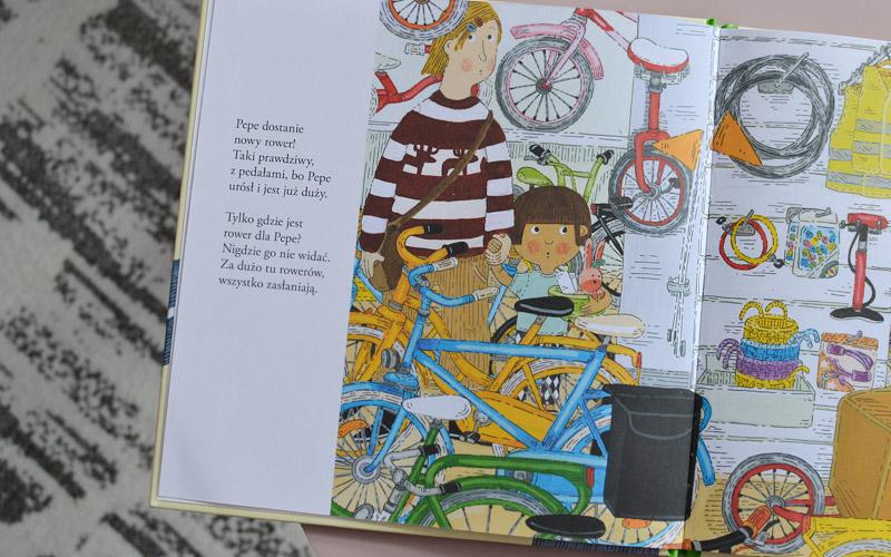 Pepe jeździ na rowerze - recenzja, zdjęcia