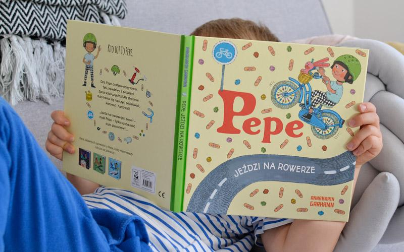 Pepe jeździ na rowerze i leci samolotem - nowe przygody