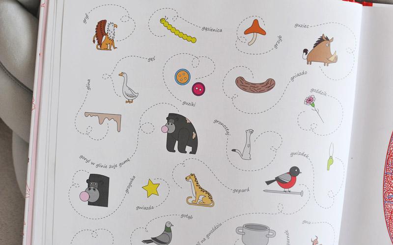 Abecadło po lupą - fajna książka dla dzieci