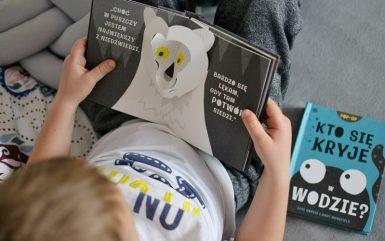 Kto się kryje w lesie i w wodzie - książki dla dzieci w formie pop-up