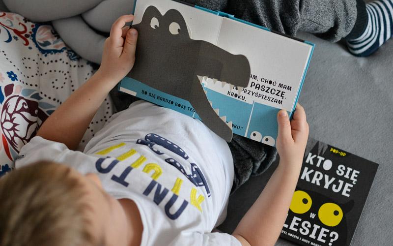 Kto się kryje w wodzie - książka dla dzieci w formie pop-up