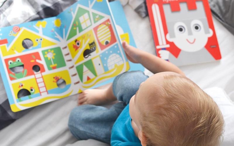 Książki z okienkami dla dzieci