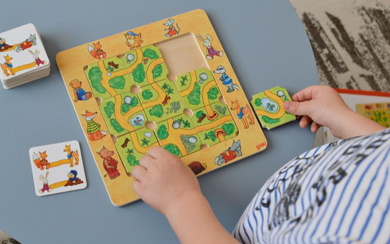 Prezenty dla dzieci na mikołajki - Drewniana gra