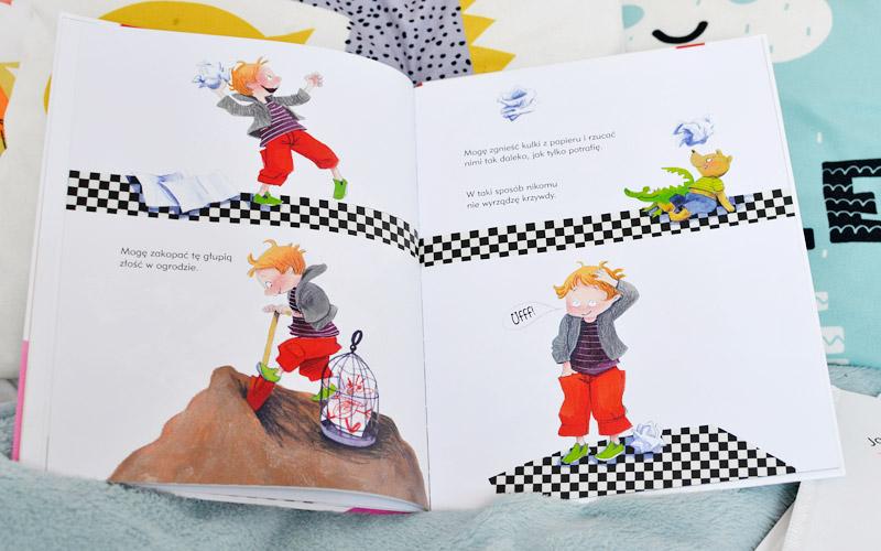 Jak pokonać złość - książka o emocjach zdjęcia