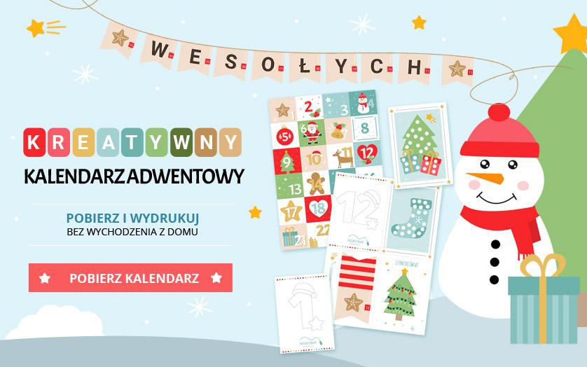 Kreatywny kalendarz adwentowy dla dzieci