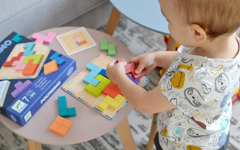 Prezenty dla dzieci na mikołajki - Drewniana układanka