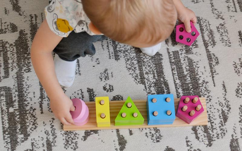Prezenty dla dzieci na mikołajki - Klocki do sortowania