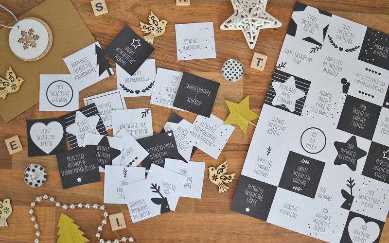 Zadania do kalendarza adwentowego - do druku