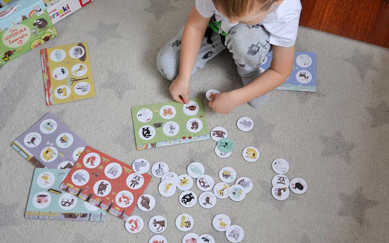 Loteryjka - fajne gry edukacyjne dla dzieci