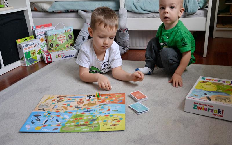 Zwierzaki świata - Fajne gry edukacyjne dla dzieci
