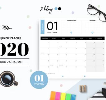 Planer styczeń 2020 – do druku za darmo