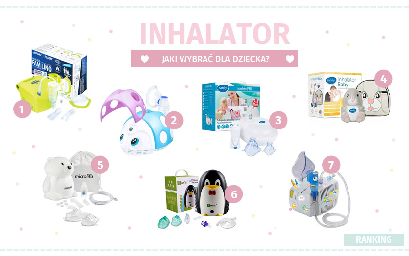 Jaki wybrać inhalator dla dziecka?