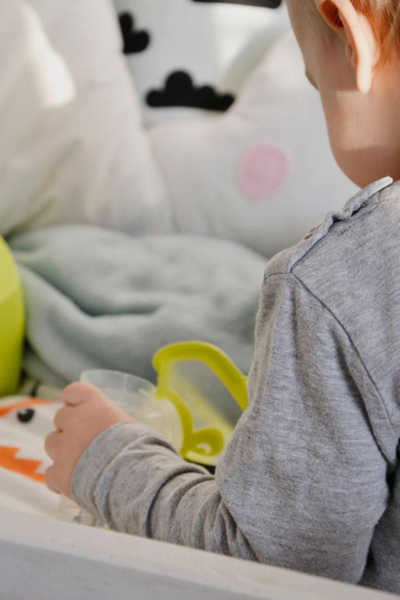 Inhalator dla dzieci z małą maseczką